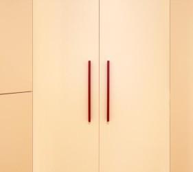 particolare cabina armadio